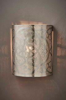 Royce Wall Lamp In Nickel