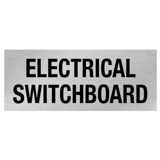 Electrical Switchboard - Silver/Black