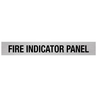 Fire Indicator Panel - Silver/Black