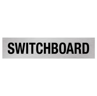 Switchboard - Black/Silver 1.6mm Alum #
