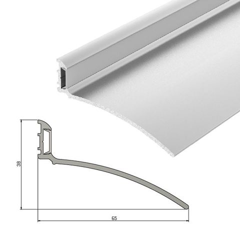 IS9010 Rain Drip Guard For Outwood Opening Doors - 1000mm