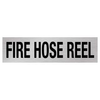 Fire Hose Reel 50mm - Silver/Black 1.6mm Alum #