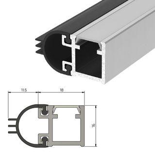 IS7080 Medium Duty Perimeter Seal - Long Double Door Set