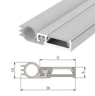 IS7025si Slimline Door Perimeter Seal Fire Rated - Double Door Set