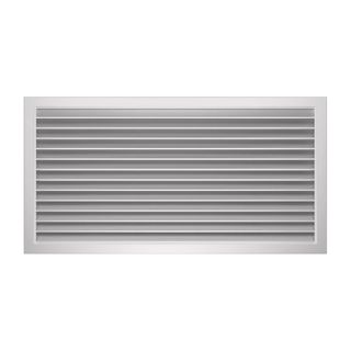 Door Grille 600x300mm NA Aluminium