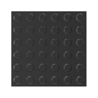 300x300mm Tactile Pads Black