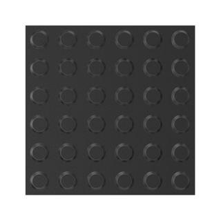 300x300mm Tactile Pads Black