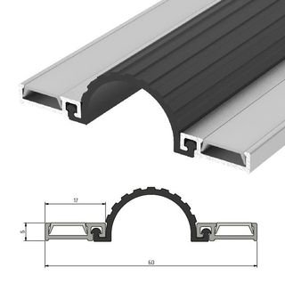 IS9050 Hinged Guard Seal - 2000mm