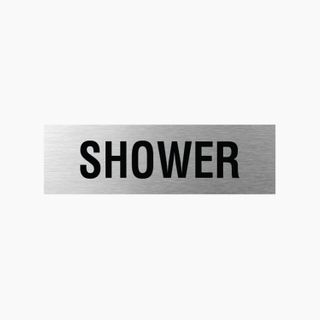 Shower - Silver/Black