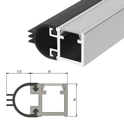 IS7080 Medium Duty Perimeter Seal - Double Door Set