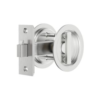Sliding Door Privacy Lock Round - SSS #