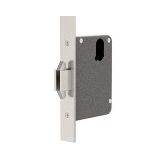 Mortice Sliding Door Lock 60mm Backset SSS