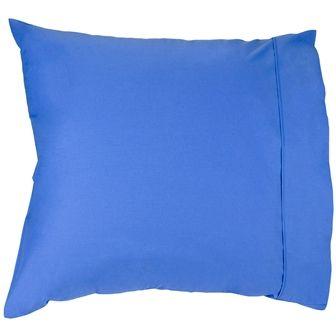 PILLOWCASE 250TC SAPPHIRE BLUE EURO