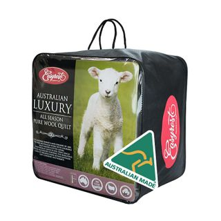 ER WOOL 100% QUILT 300GSM DOUBLE