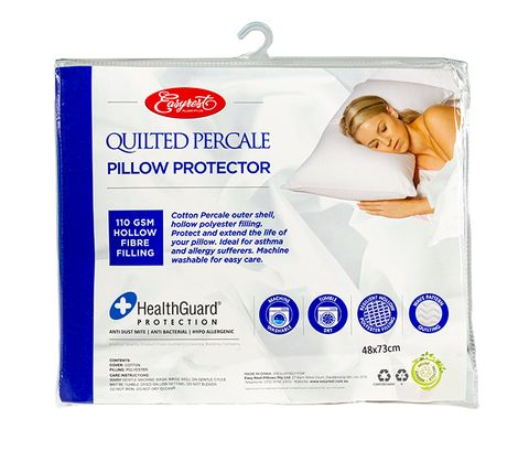 PERCALE QUILTED STANDARD PP - 1 PACK
