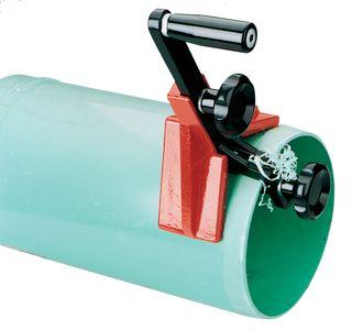 Plastic Pipe Beveller 1 1/2in -8in cap. Reed