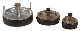 Test Plug Pressed Steel 9 inch (225mm)