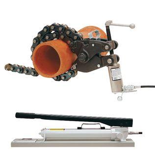 Hydraulic Pipe Cutter 6 -36 inch Wheeler-Rex