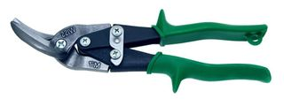 Offset Snip Green - Cuts Right Wiss