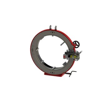 Tube/Pipe Cutter 447 to 725mm Air motor