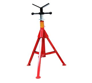 Folding Leg Pipe Stand V Head S/Steel