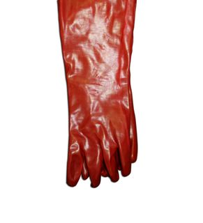 Red Acid Gloves 45cm Pair
