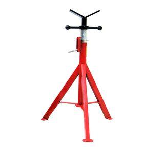 Fixed Leg Pipe Stand V Head S/Steel - plumBOSS