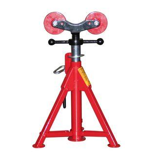 Short Folding Leg Pipe Stand Roller Head - plumBOSS