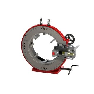 Tube/Pipe Cutter 212 to 422mm Air motor