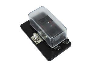 Fuse box W/ LED suit 4 x mini blade fuses