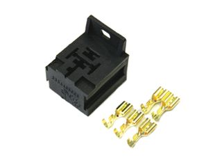 Relay base with bracket suit mini relay