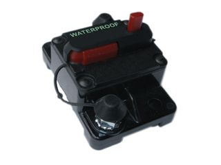 Manual reset circuit breaker 42V Max (80A)