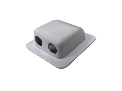 Cable entry Box ( 2x cable glands)