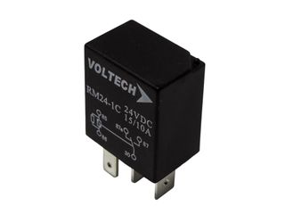 Relay Micro C/Over type, 24V, 15/10A,5 Pin