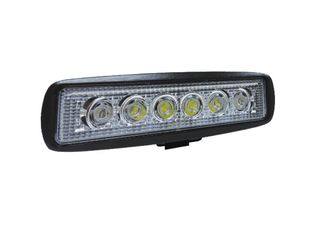 LED Work Light 18Watt  Single Row