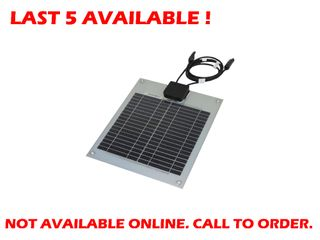 Solar panel flexible aluminium back (10W) - END OF LINE CLEARANCE