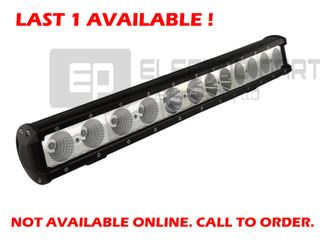 LED Bar Light 120Watt CREE single row, Combo
