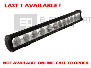 LED Bar Light 120Watt CREE single row, Combo