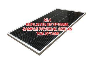 "Solar panel Voltech (170W) - ""New Size Nov20"""
