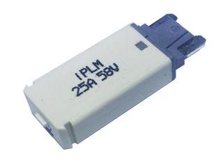 Manual reset circuit breaker Micro blade (25A)