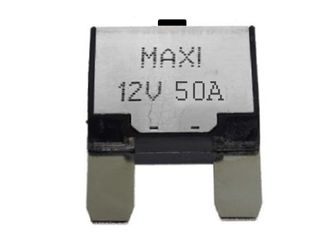 Manual reset circuit breaker Maxi blade (50A)