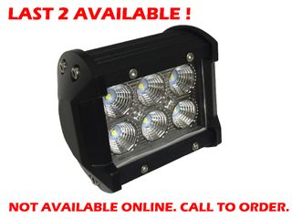 LED Work Light 18W SMD Double Row - NEW