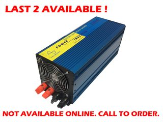 Pure sine wave inverter 24Volt (3000W)