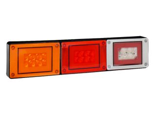 Lucidity Glotrac LED Combination Rear Lamp 12V-24V (D.I./Stop-Tail/Rev.)