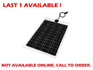 Solar panel flexible Voltech (60W) - END OF LINE CLEARANCE