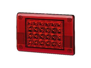 Lucidity LED Stop/Tail Rear Lamp 12V-24V (Suits 26007ARC-BV & 26007ARR-BV)