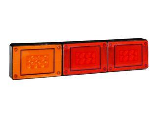 Lucidity Glotrac LED Combination Rear Lamp 12V-24V (D.I./Stop/Tail)