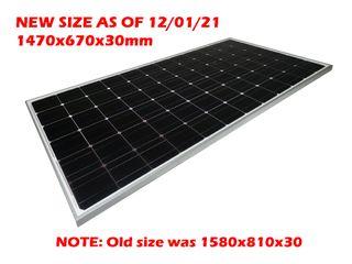 "Solar panel Voltech (200W) - ""New Size Jan21"""