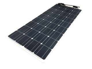 eArc Light weight solar panel (100W - 12V) - Frameless