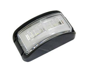 Lucidity Glotrac LED Side Marker Lamp 12V-24V (Clear lens, red-amber LEDs)